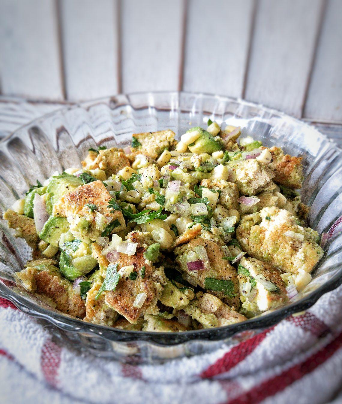 vegan avocado chicken salad