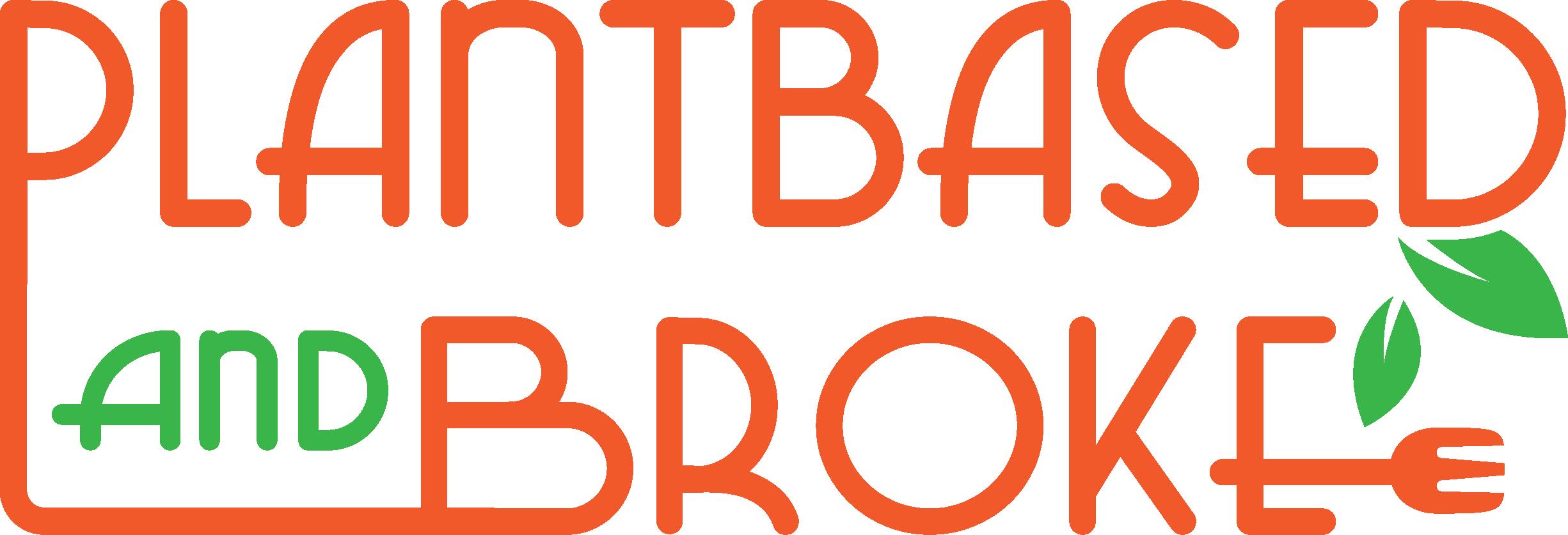 Plant-Based And Broke Business Logo