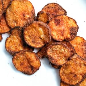 Smoked paprika potato chips.