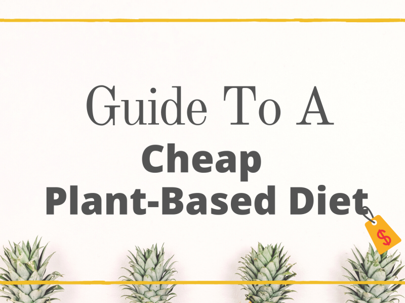 Guide to a cheap plant-based diet
